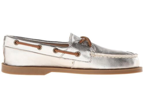 sts95640 size Sperry Shoes Sider platinum Leather 6 Top women's Boat rudder Fqw7q