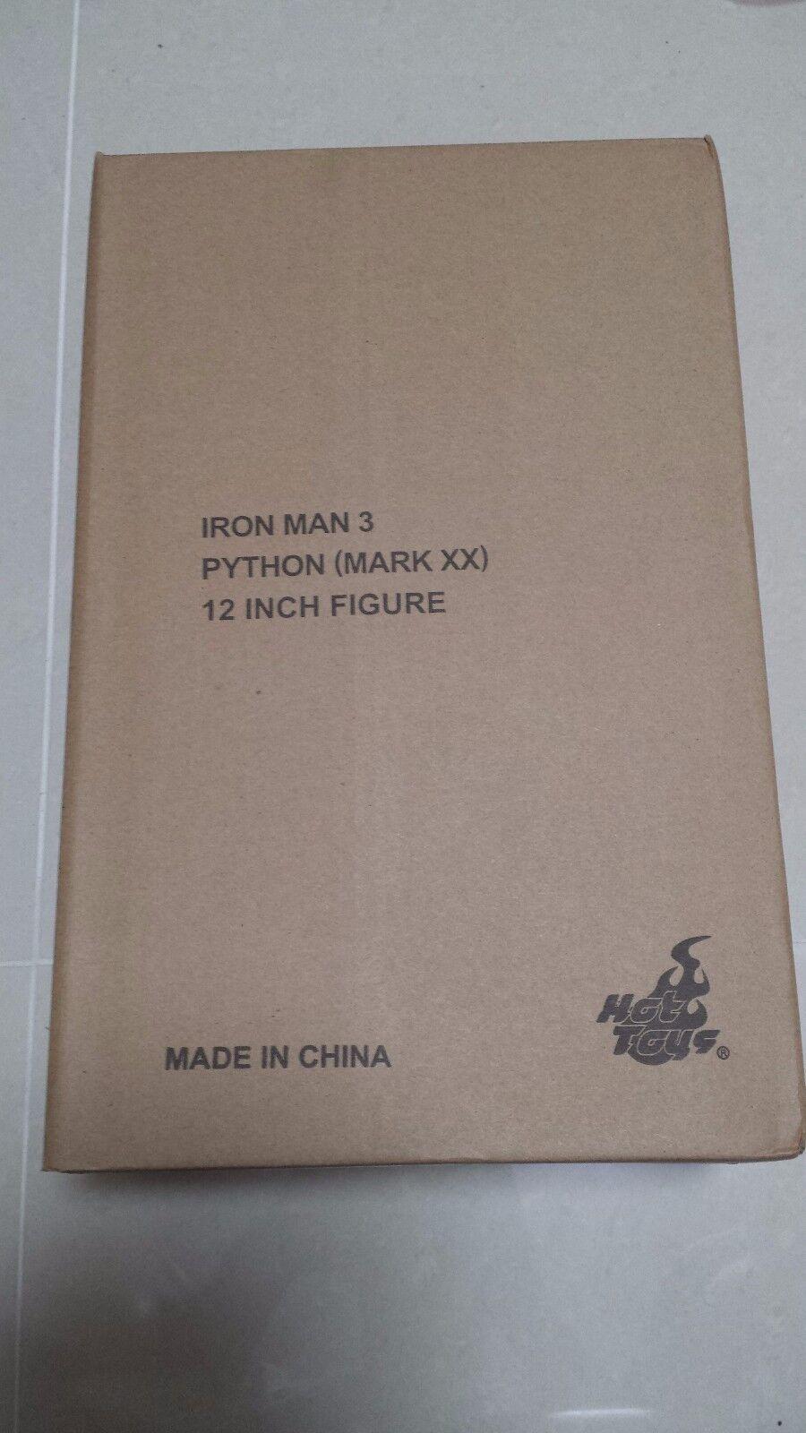 Hot Toys MMS 248 Iron Man XX xx 20 Python Tony Stark 12 inch Action Figure NEW