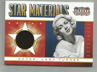 Lana Turner Jumbo Materials Relic Card 2015 Panini Americana //499 SJ-LT