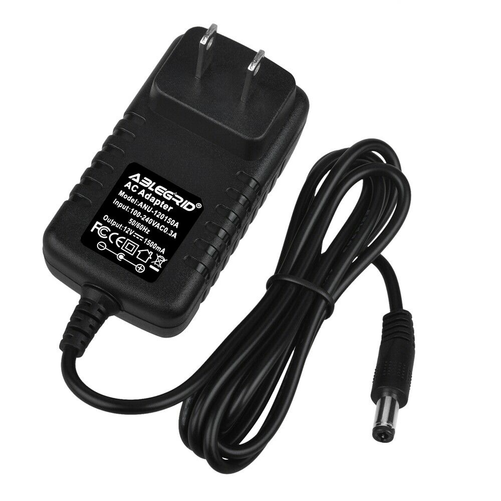 12V 1.5A AC Adapter for Nightowl Zmodo Q-see Swann Home Security Camera Power