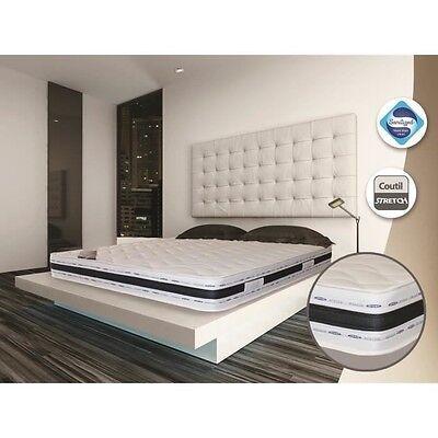 Matelas Luxe 140x190 22 cm Grand Confort