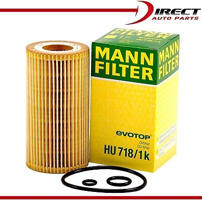 10 MANN-FILTER HU718//4X For Mercedes-Benz C E ML G S SL Dodge Sprinter 2500//3500