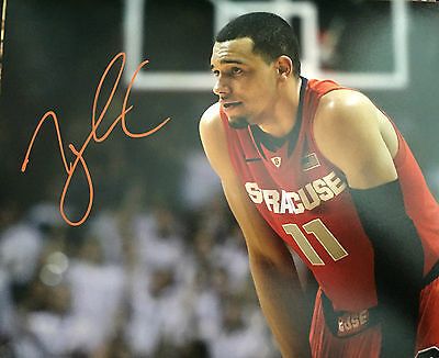 Basketball Tyler Ennis Signed Autograph 8x10 Photo Syracuse Orange Milwaukee Bucks W/coa