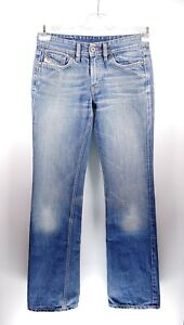 Diesel Riden W27 L32 blau blue Damen Jeans Hose Denim Designer Mode Italien VTG