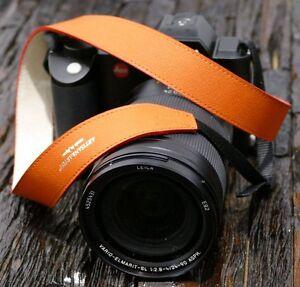 Artisan & Artist Design Kamera Gurt Tragriemen Strap ACAM 600N orange SLR SL