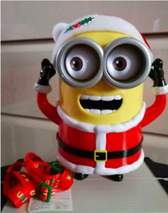 USJ Limited Minion Popcorn Bucket Universal Studio Japan Christmas 2018 F//S Used