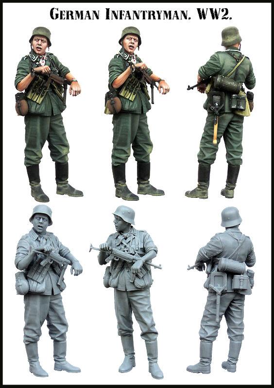 1//35 World War II German Female Officer Resin Figure Model YFWW35-1878 Sold L0Z0