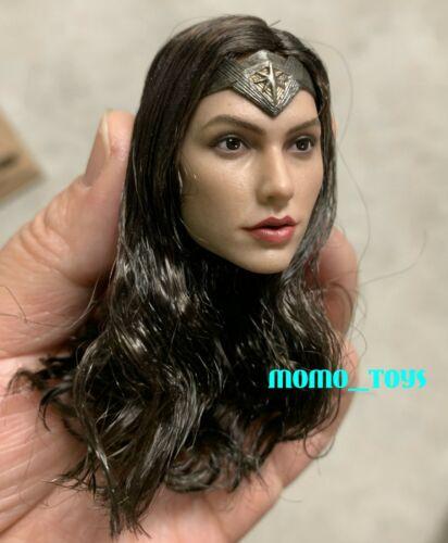 "1//6 Wonder Woman Gal Gadot Female Head Sculpt for 12/"" Hot Toys TBL Figure ❶ USA ❶"