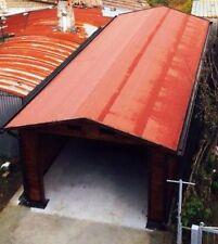 Guaina ardesiata ROSSA rotolo da 5 mt per copertura casette e gazebo