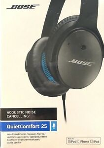73658b206d6 Bose QuietComfort 25 Acoustic 3.5mm Noise Cancelling Headphones for ...