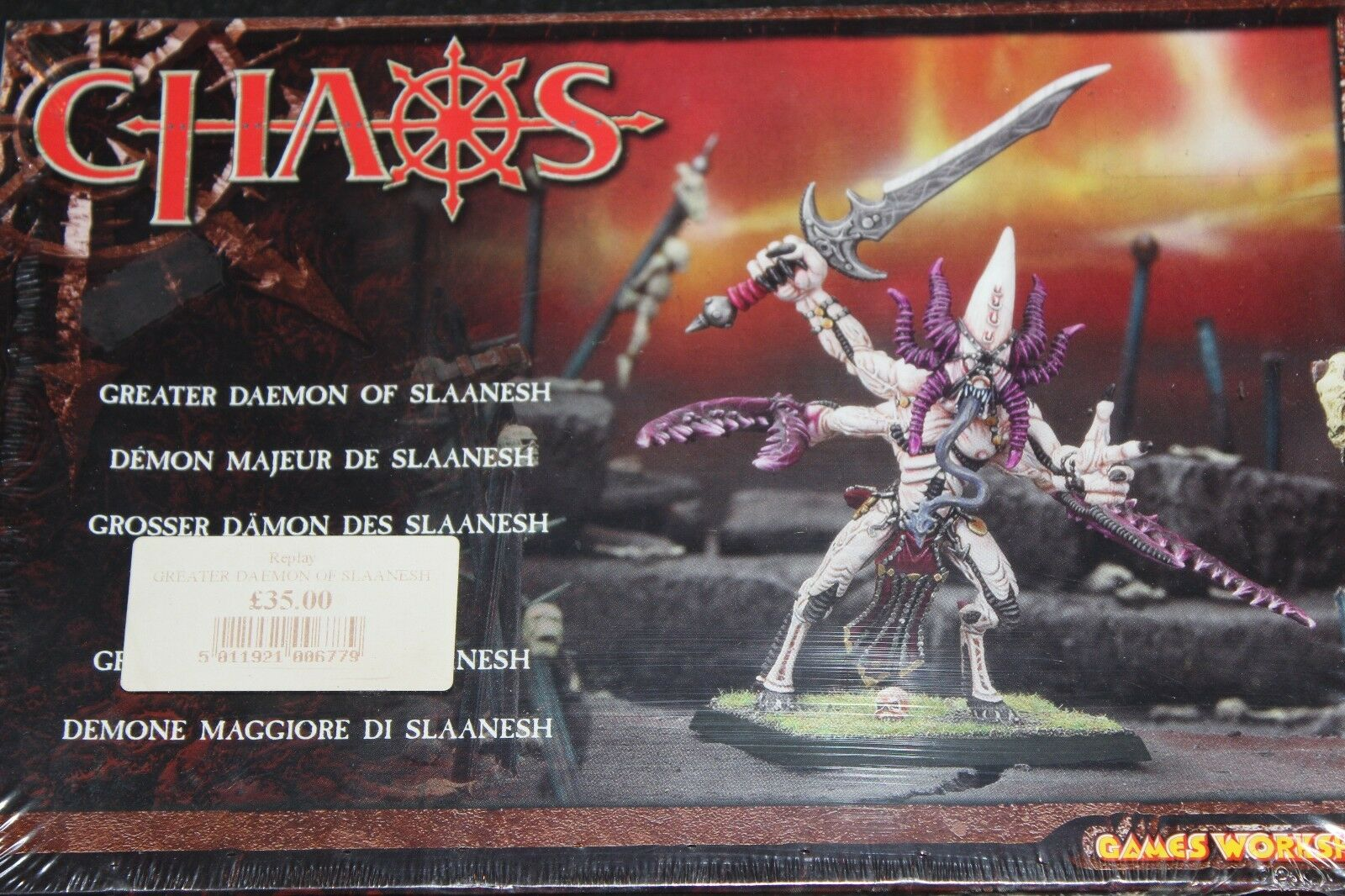 Games workshop warhammer greater daemon de boîtes neuf new boxed fantasy metal