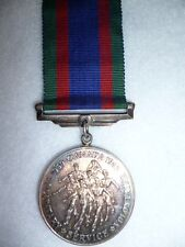 The Canadian Volunteer Service Medal WW2 - Silver Issue