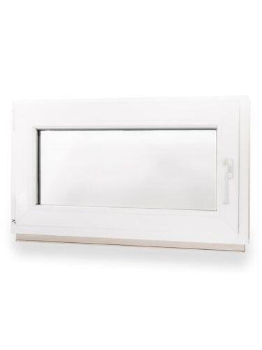 Kunststofffenster Kellerfenster Fenster Alle Breiten X 500 mm Höhe 2-Fach