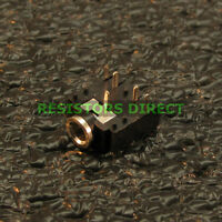 25x 3.5mm Pcb Mount Stereo Socket Female Switched Audio Chassis Jack 1/8 R36