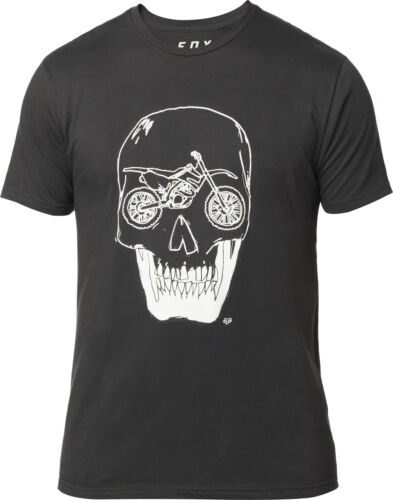 Fox Racing Growler Mens Premium Short Sleeve T-Shirt Black Vintage