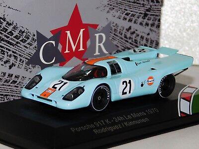 PORSCHE 917 K GULF N.21 DNF LE MANS 1970 P.RODRIGUEZ-L.KINNUNEN 1:18 CMR Classic Model Replicars Die Cast Auto Competizione Modellino
