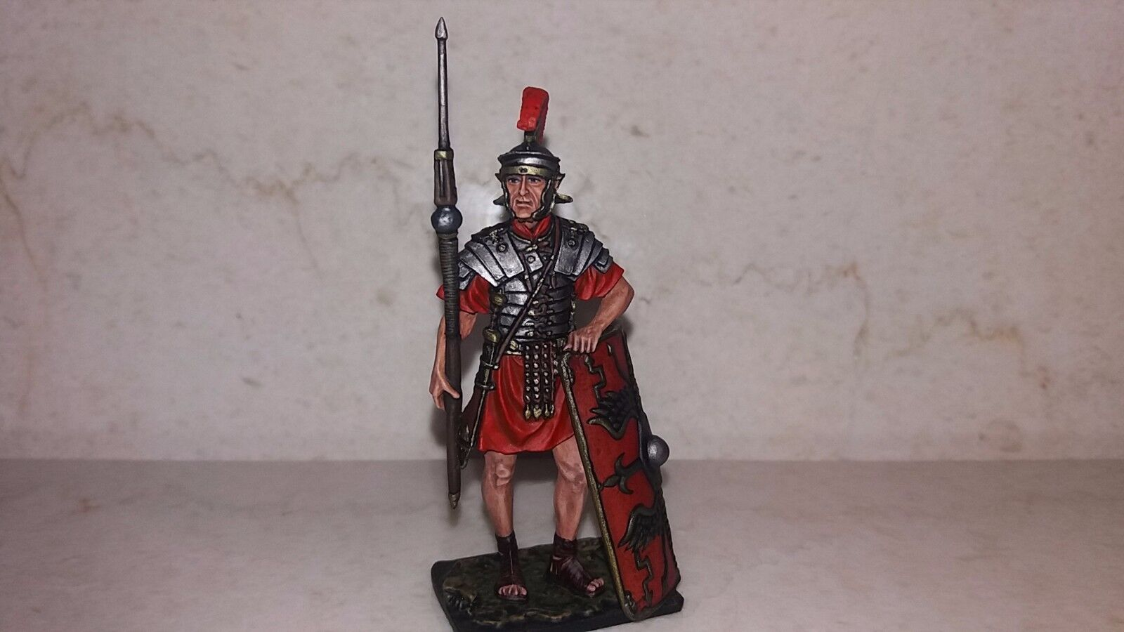Exclusive lead soldier,Roman legionary, 1 century AD,hand painted,detailed,rare