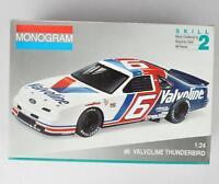 Monogram 6 Valvoline Thunderbird 1/24 Scale Model Complete Excellent