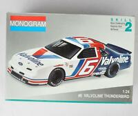 Monogram 6 Valvoline Thunderbird 1/24 Scale Model Complete Excellent