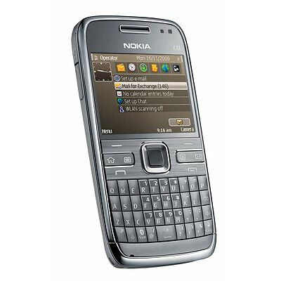BRAND NEW NOKIA E72 - 5MP CAMERA - 3G - WIFI - METAL GREY - BOXED - UNBRANDED