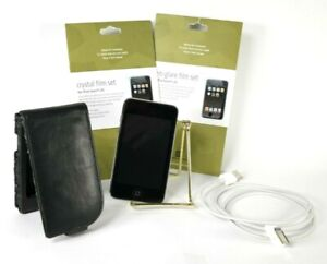 Apple-IPod-Touch-2nd-Generation-Model-A1288-Charger-Case-2-Film-Sets-Bundle