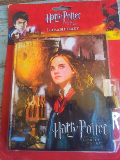 New..Collectable Rare Vintage Harry Potter Lockable Diary