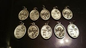 10x Our Lady of Perpetual Help charms Catholic Saint charm Vatican City medal - <span itemprop='availableAtOrFrom'>Newport, United Kingdom</span> - 10x Our Lady of Perpetual Help charms Catholic Saint charm Vatican City medal - Newport, United Kingdom