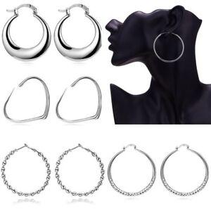 Image is loading Fashion-Moon-Statement-Big-Round-Circle-Women-Drop- 6c23eba64a4f