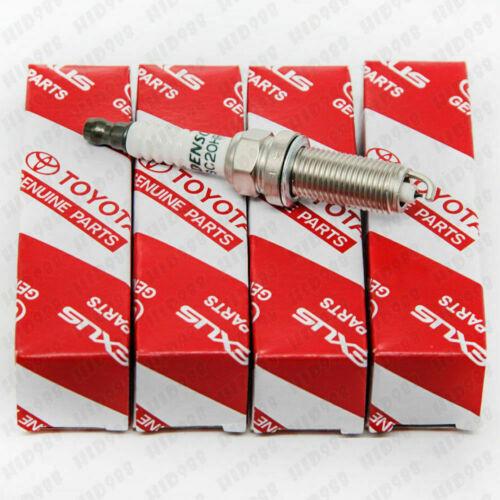 M 4X Iridium Spark Plugs 90919-01210 SK20R11 For Toyota Camry RAV4 Avalon US S