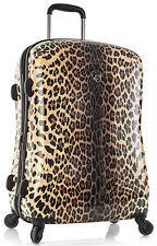 "Heys America Luggage Leopard Panthera 26"" Expandable Spinner 4 Wheel Suitcase"