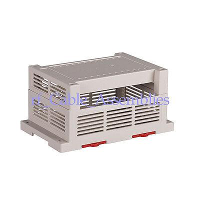 PLC industrial control box plastic shell fixture Electronics Project case DIY