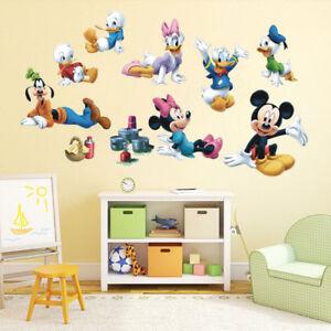 Micky Maus Wandtattoo Wandsticker XXL Riesig Mickey Mouse ...