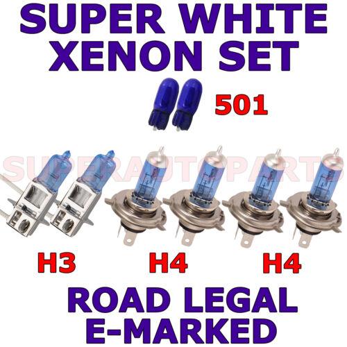 FITS  HYUNDAI ACCENT 2000-2002 SET H3  H4  H4 501 XENON LIGHT BULBS