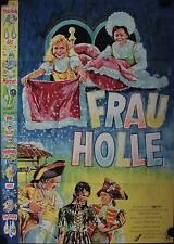Frau Holle Filmposter A1 Märchen 1961 Lucie Englisch, Madeleine Binsfeld