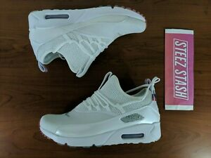 the latest 7eaea 3189e Details about Nike Air Max 90 EZ Mens Sneakers 4th of July White Silver  Blue AQ7980 100 Size 8
