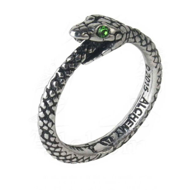 New Alchemy Gothic Pewter Crystal Lord of Flies Fly Ring UK Made R184