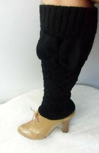 Jambieres-jambieres-guetres-guetres-leg-warmers-noir-maille-noeud-bow-knot-sexy