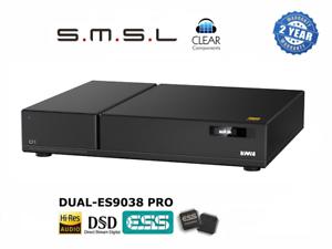 SMSL d1 2x 9038-pro Sabre DSD DAC DIGITALE ANALOGICO USB Conv poiché CONVERTITORE Highend-Top