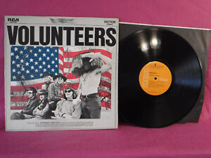 Jefferson Airplane, Volunteers, RCA Victor Records LSP 4238, 1969 Gatefold Psych
