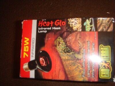 GüNstiger Verkauf Exo Terra Heat Glo 50w Infrarotlampe Reinigen Der MundhöHle. Reptilien Haustierbedarf