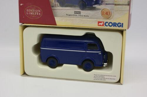 Corgi Heritage 1//43 Peugeot D3A Tôlé bleu