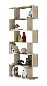 Estanteria abierta libreria mueble comedor separador for Mueble separador de ambientes