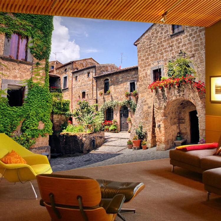 3D Plants town 628 WallPaper Murals Wall Print Decal Wall Deco AJ WALLPAPER