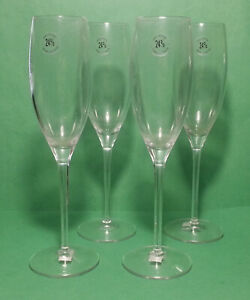 Champagne-Flute-350-ml-10-oz-24-Lead-Crytal-10-034-Tall-Made-in-France-Set-of-4