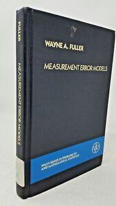 measurement error models fuller wayne a