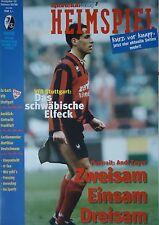 Programm BL 1995/96 SC Freiburg - VfB Stuttgart
