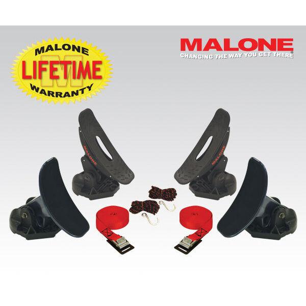 Malone Saddle Up Pro Adjustable Saddle Kayak and Paddleboard Carrier