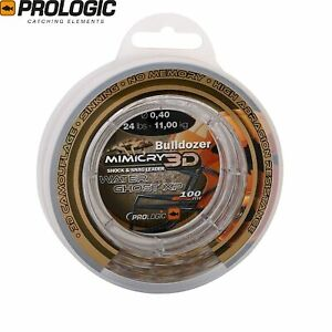 Prologic Bulldozer Mimicry XP 100m Leader Water Ghost Clear water