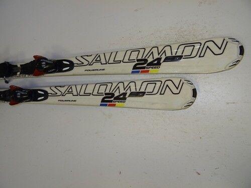 Ski Carvingski Salomon 24 Speed mit Bindung, 158cm (DD995)