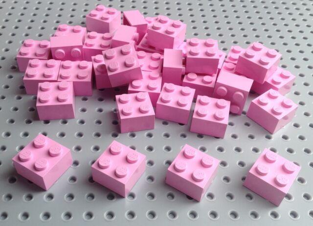 Lego Pink 2x2 Brick (3003) x10 *BRAND NEW City Star Wars Pirate Friends